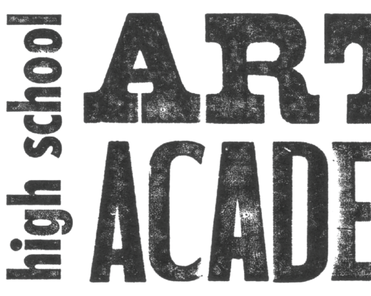 Promo banner naming the academy