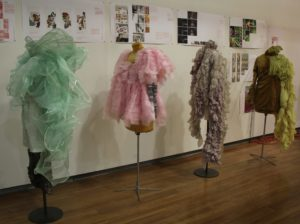 image of student work at final reviews